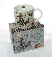 Spooktacular Halloween Bicycle Mug