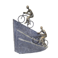 Mountain Ride Bicycle Sculpture