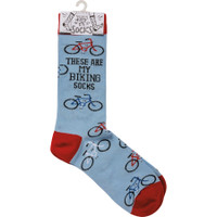 These are my BIKING Socks