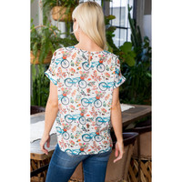 Back of Blouse Top