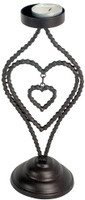 Bicycle Chain Heart Candleholder