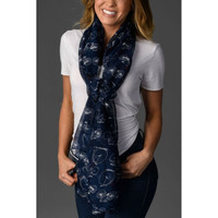 Cycle Fashion Bike Scarf with Red Accents 5 Colors