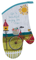 Enjoy the Ride Colorful Oven Mitt