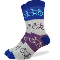 Bold Stripe Bicycle Sock