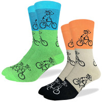 Dogs on Bikes Fun Sock
