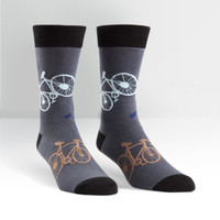 Mens Bicycles Crew Socks