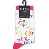 Multi Bright Bikes Women's Sock