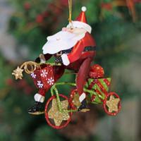Jolly Cycling Santa