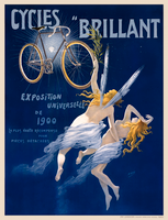 Cycles Brillant French Bicycle Poster Print by H. Gray