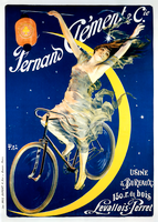 Fernand Clement Vintage French Bicycle Poster by PAL
