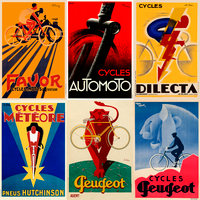 Art Deco Vintage Poster Set