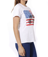 Ride USA Apres Velo Women's T - side view