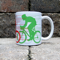 Racin'Round the Cup BicycleGifts Coffee Mug