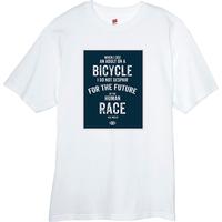 H G Wells 100% cotton BicycleGifts Men's t-shirt