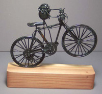 Mountain Bike Original Flea Sculpture