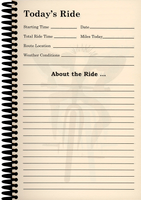 Ride Journal - Log Page
