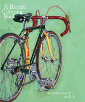 A Bicycle Coloring Book
