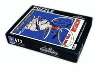 Pneu Velo Michelin Vintage Poster Jigsaw Puzzle
