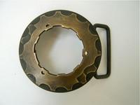 Brass Cog Belt Buckle