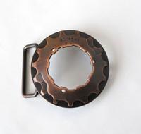 Copper Cog Belt Buckle