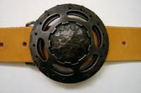 Steel Satellite Belt Buckle - Buckle only