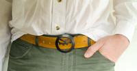 Cog Bottle Opener Belt Buckle - Buckle only