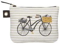 Bicicletta Zip Pouch - Large by Danica Studios