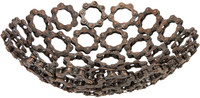 Decorative Chain Bowl comes in three sizes