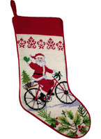 Santa Holiday Stocking