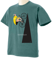 Mount Ventoux Valenti Cycling Art - Blue Granite Color