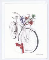 Holiday Bike Christmas Card