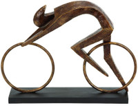 Aero Cyclist Sculpture