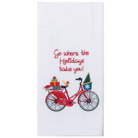 Red Bike - Go Where the Holidays Take You