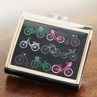 Small Vintage Bicycles Coin Purse