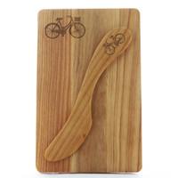 Miniature Bicycle Cheese Board