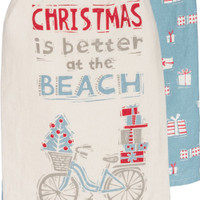 Christmas Better At Beach Towel Set