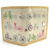 Vintage Bicycles Small Wallet