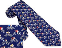 Road Race Tie Blue