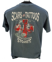 Scars are Tattoos Bike Tshirt