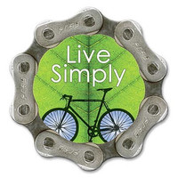 Live Simply Magnet