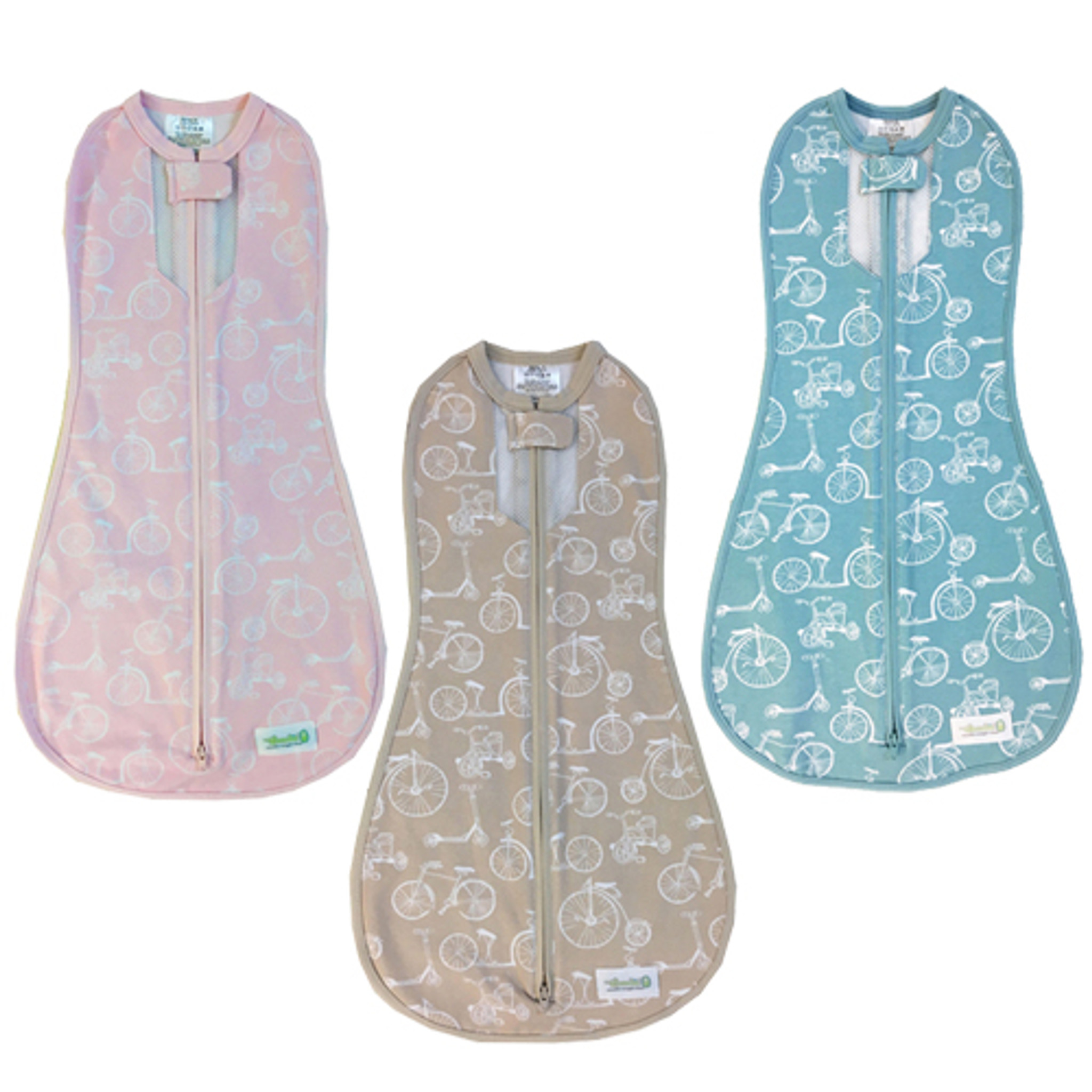 a43a094b98 Woombie Fun Bicycles Baby Swaddle