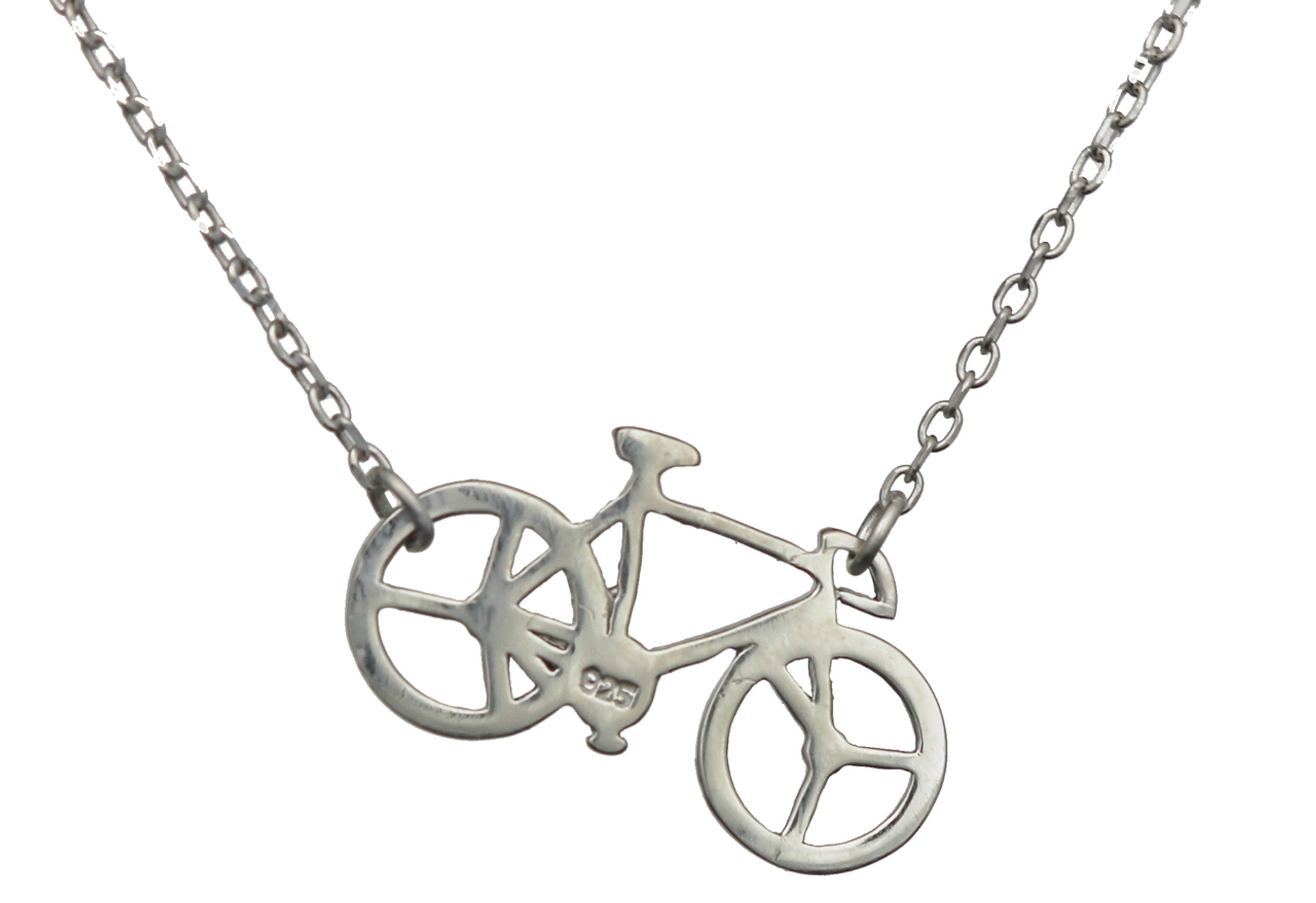 Hardware Three Strand Rivet Necklace Bike Gift Upcycled Bike Necklace Recycled Bike Chain Cyclist present Industrial and Delicate