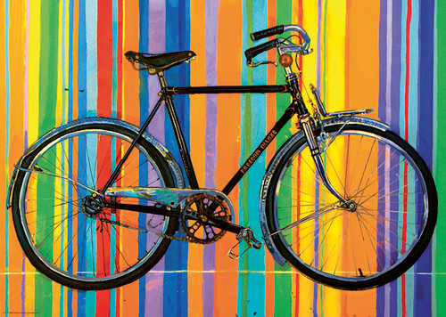 Bike Art Puzzle - 1000 PCS