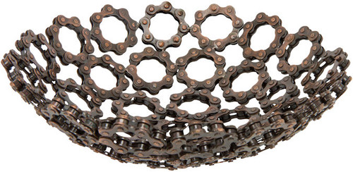 Decorative Chain Bowl comes in two sizes