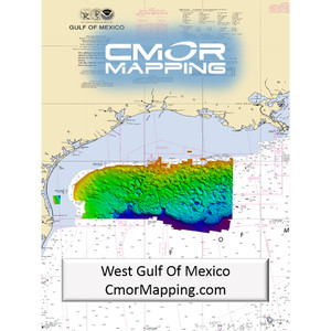 Furuno CMOR Mapping - West Gulf of Mexico f/TZT2 & TZT3
