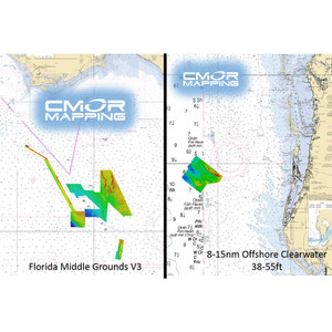 Furuno CMOR Mapping - Florida Middle Grounds f/TZT2 & TZT3