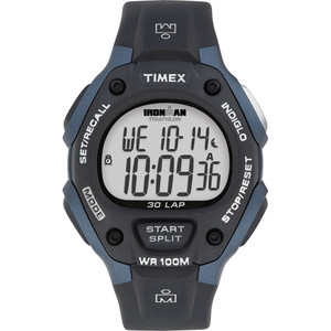 Timex IRONMAN Classic 30 Full-Size 38mm Watch - Grey/Blue