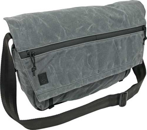 Grey Ghost Gear Wanderer Bag - Waxed Canvas Charcoal