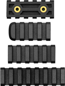 Ab Arms Rail Combo Pack Ltf - 7/5/4 Slot Rails Black