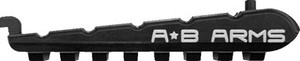Ab Arms T Rail Picatinny Rail - Section For Iwi Tavor Black